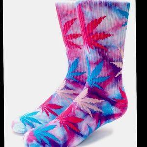 COPY - 💞💙cotton candy plantlife tie dye crew sock…
